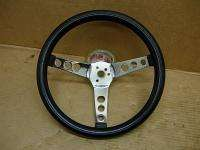 1960s CAL CUSTOM 13 BLACK STEERING WHEEL SUPERIOR 500