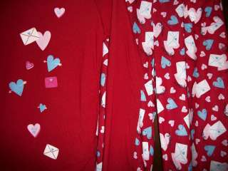 sz 14 OLD NAVY Wonderful Red/My Valentine&Candy Hearts NEW