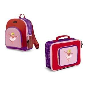 Crocodile Creek Backpack And Lunch Box Set  Ballerina Baby