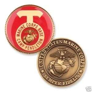 MARINE CORPS CAMP PENDLETON USMC CHALLENGE COIN