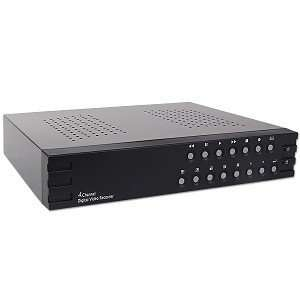 4 Channel Standalone DVR w/MPEG4 Network USB   No Hard