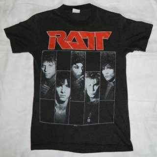 1987 RATT VTG DANCING UNDERCOVER TOUR T SHIRT CONCERT