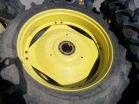 Used 13.6X38 FIRESTONE Rice & Cane Deep Tread JOHN DEERE Tractor Tires