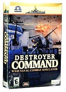 DESTROYER COMMAND Naval Combat PC Simulation NEW in BOX 008888610403