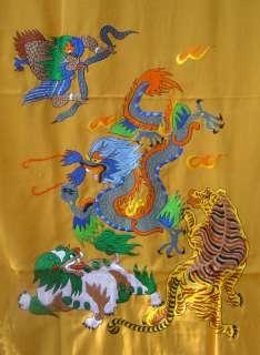 Traditional Tibetan Buddhist Cotton Door Curtain NEPAL