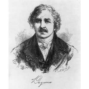 Louis Jacques Mande Daguerre,1787 1851,artist,chemist