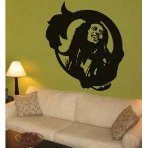 Bob Marley Wall Art Decal Home Decor