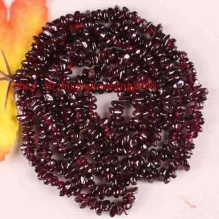 Irregular Shape Red Garnet Gemstone Loose Bead 30