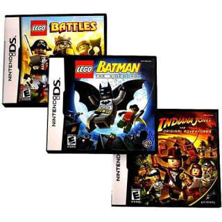 LEGO 3 Pack DS, LEGO Batman Nintendo DS Game, LEGO Star Wars Game