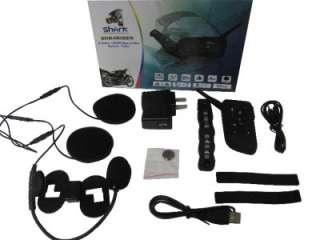 Bluetooth Motorcycle Helmet Intercom Headset Dual Kit 2pc w/ Remote