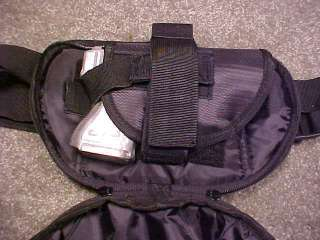 Concealment Nylon Fanny Pack Small Ruger LCR SP101 2 3