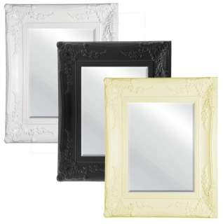 Wall Mirror Distressed Frame Home Art Decoration