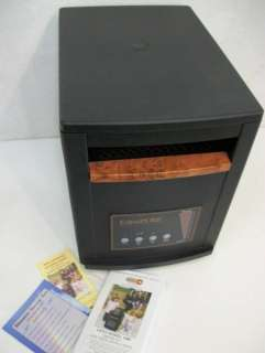 MODEL A3705 QUARTZ INFRARED PORTABLE HEATER & Owners Manual