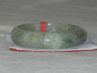 16 56 MM GRADE A JADEITE TRANSLUCENT LIGHT GREEN JADE BANGLE