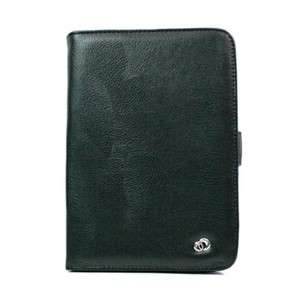 Kindle Fire Wifi eReader Tablet Black Faux Leather Case Cover