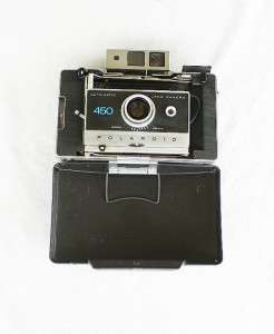 Vintage Polaroid 450 Land Camera w/ Zeiss Rangefinder