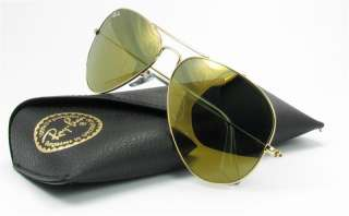 Ray Ban Aviator Large Metal RB3025 W3276 Gold/Gold Mirror 58mm