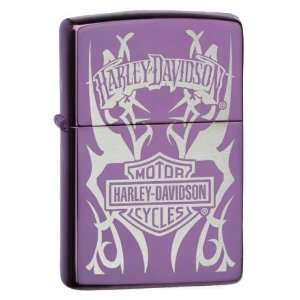 Zippo Harley Davidson Tribal Abyss Lighter Reliable