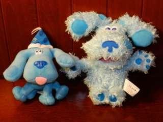 Blues Clues Magenta Pepper Plush Stuffed Animal Dog Toy LOT Rattle