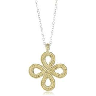 Anna Beck Designs Timor Reversible Open Clover 18k Gold Plated