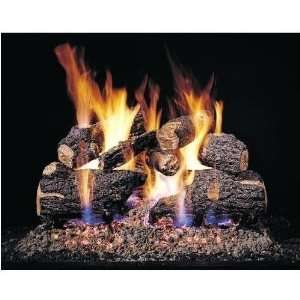 Peterson Gas Logs 18 Inch Charred Oak Vented Propane Gas Log