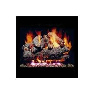 Vented Propane Gas Log Set W/ G4 Burner And Manual Safety Pilot