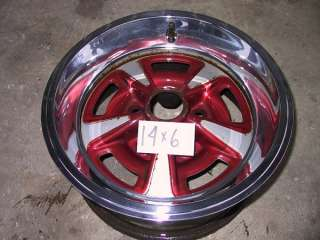 New 14x6 7 Firebird GTO OEM Styl Rally Wheel Trim Rings