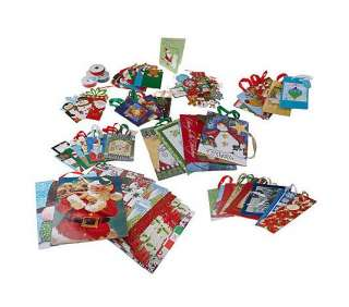101 Piece Design Scapes Holiday Gift Wrap, Bag, Ribbon and More Set