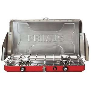 Primus Atle 2 Burner Portable Lightwieght Propane Camp Stove and Grill