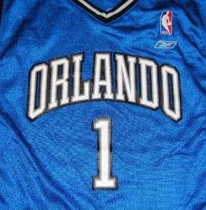 TRACY MCGRADY ORLANDO MAGIC NBA JERSEY REEBOK shirt