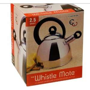 2.5 Qt Whistling Stainless Steel Kettle (Mirror Finish