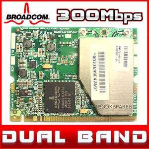 Wireless N Mini PCI Laptop WiFi 802.11n 300Mbps Internal Lan Card DUAL