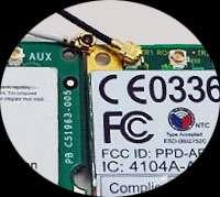 Antenna for Laptop WiFi Wireless mini PCI network card