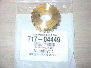 MTD Snowblower Worm Gear Gearbox Troy Bilt 717 04449 |